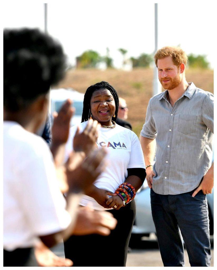 Harry no Nalikule College, em Lilongwe, no Malaui