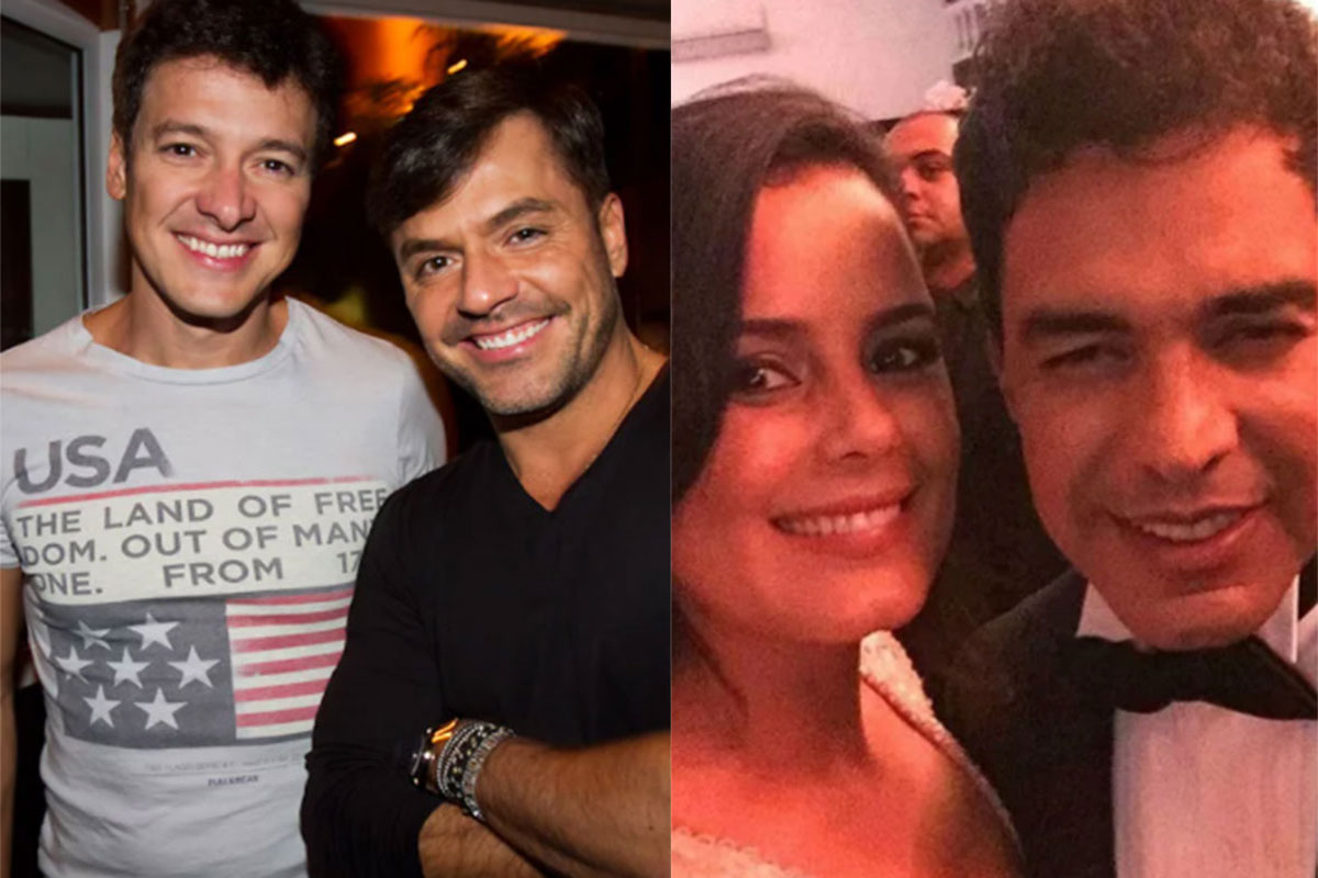 Danilo Faro e Luciele Di Camargo se estranharam na web