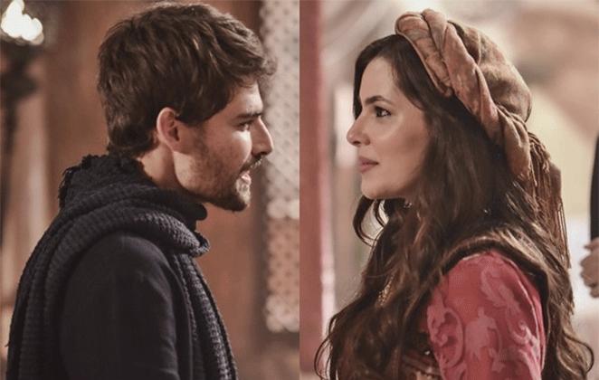"""Jacó se casa com Raquel em """"Gênesis"""", novela da Record TV"""