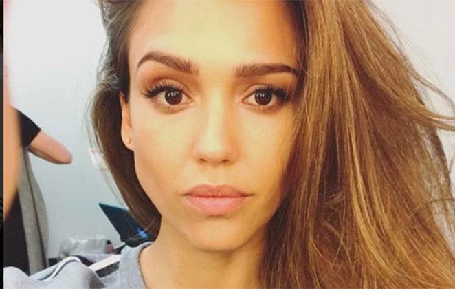 Jessica Alba foto de rosto
