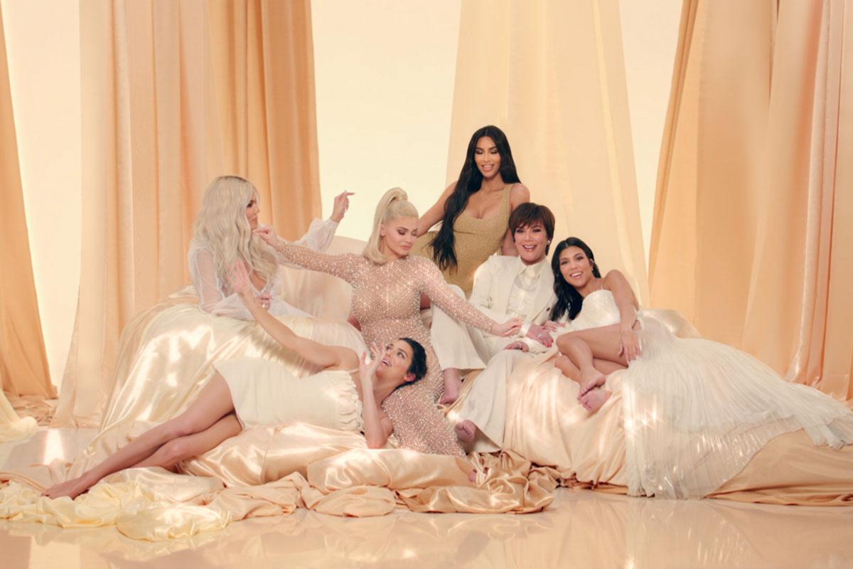 Retrato da mulheres da família Kardashian-Jenner