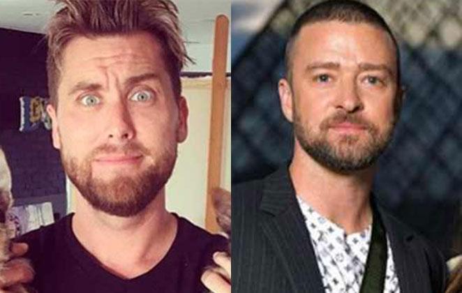Lance Bass e Justin Timberlake