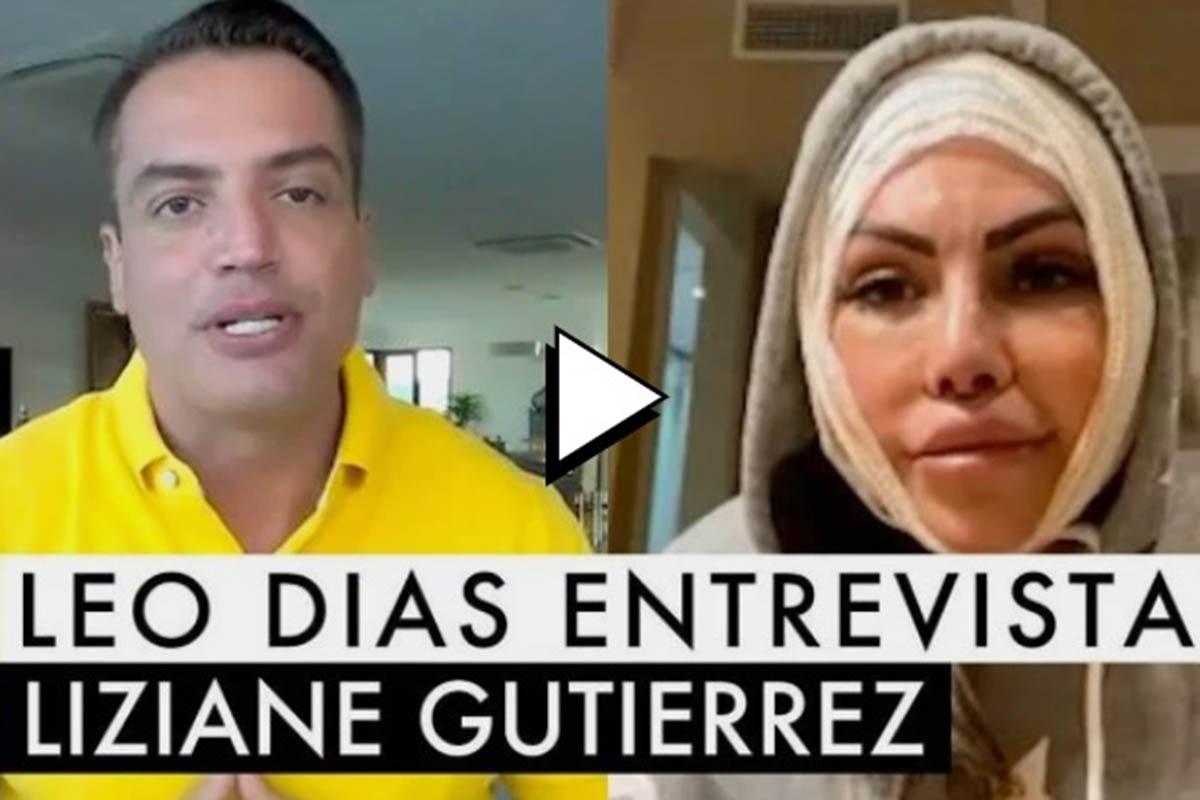 Leo Dias entrevista Liziane Gutierrez, mulher que surtou com os policiais