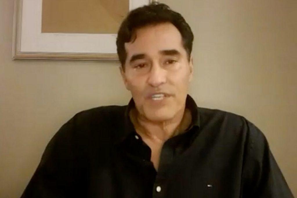 Luciano Szafir durante entrevista ao Fantástico