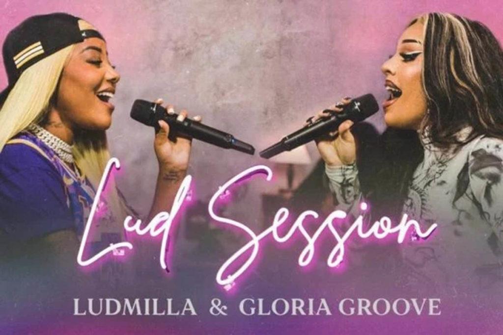 Ludmilla canta com Gloria Groove