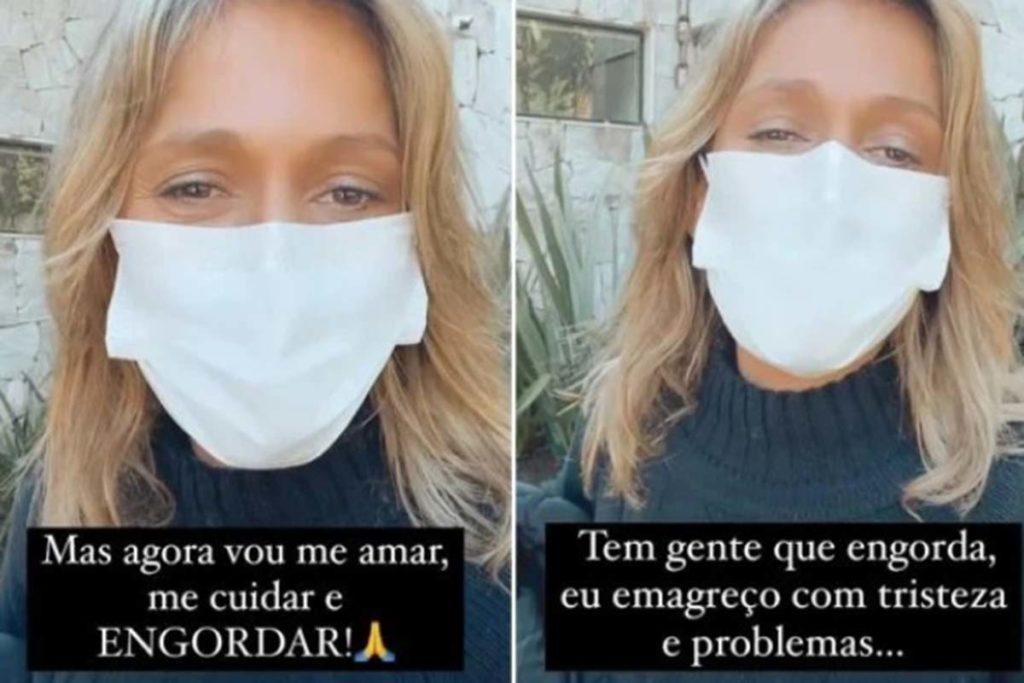 Luisa Mell revela que perdeu peso devido à tristeza