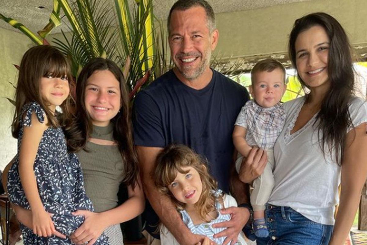 Malvino Salvador com a família