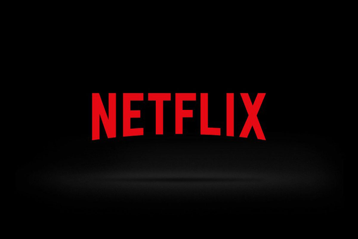 Foto do logo da Netflix