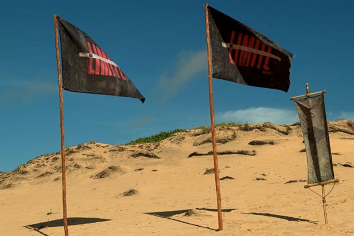 Bandeiras do reality show No Limite