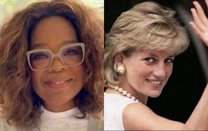 Oprah Winfrey e Princesa Diana