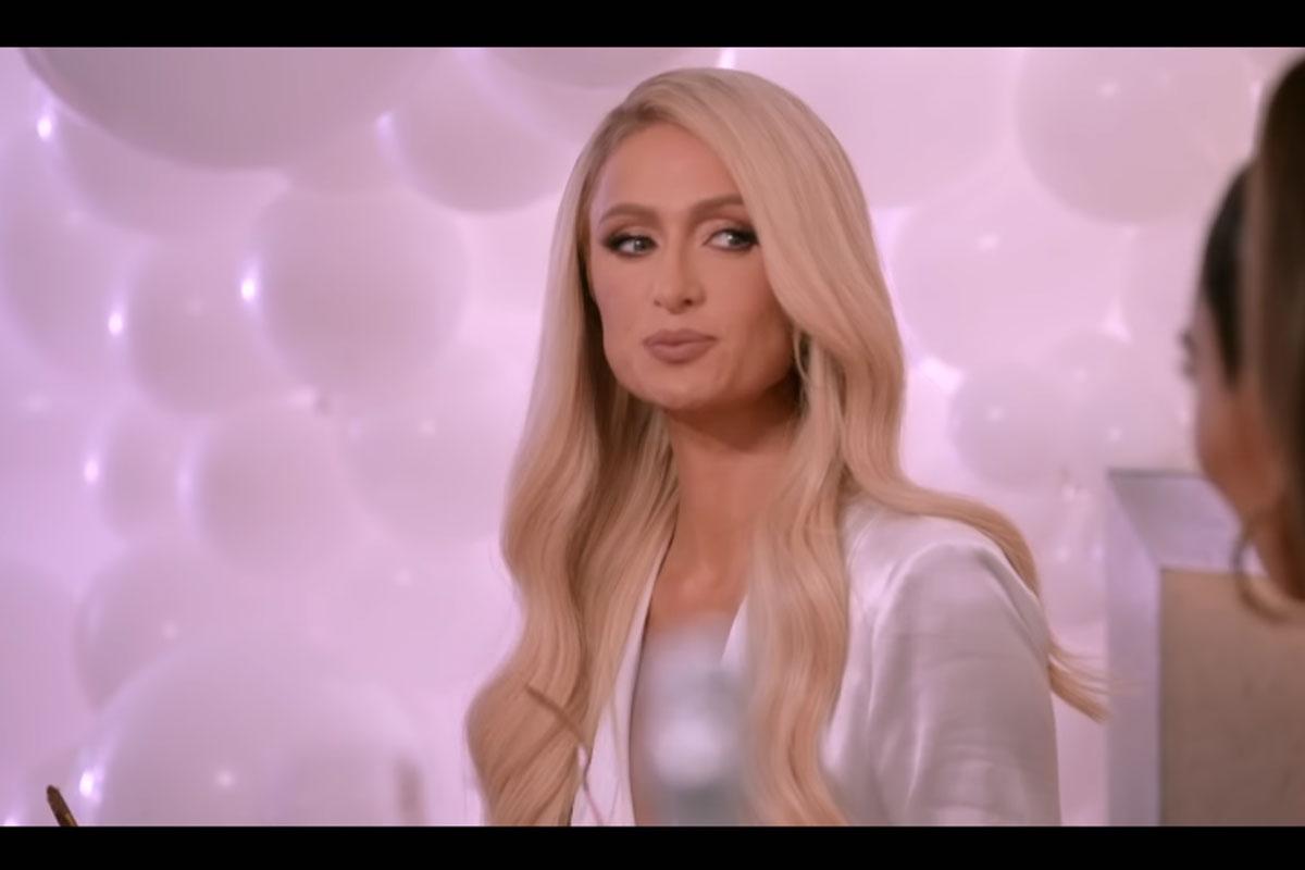 Paris Hilton em trailer de série
