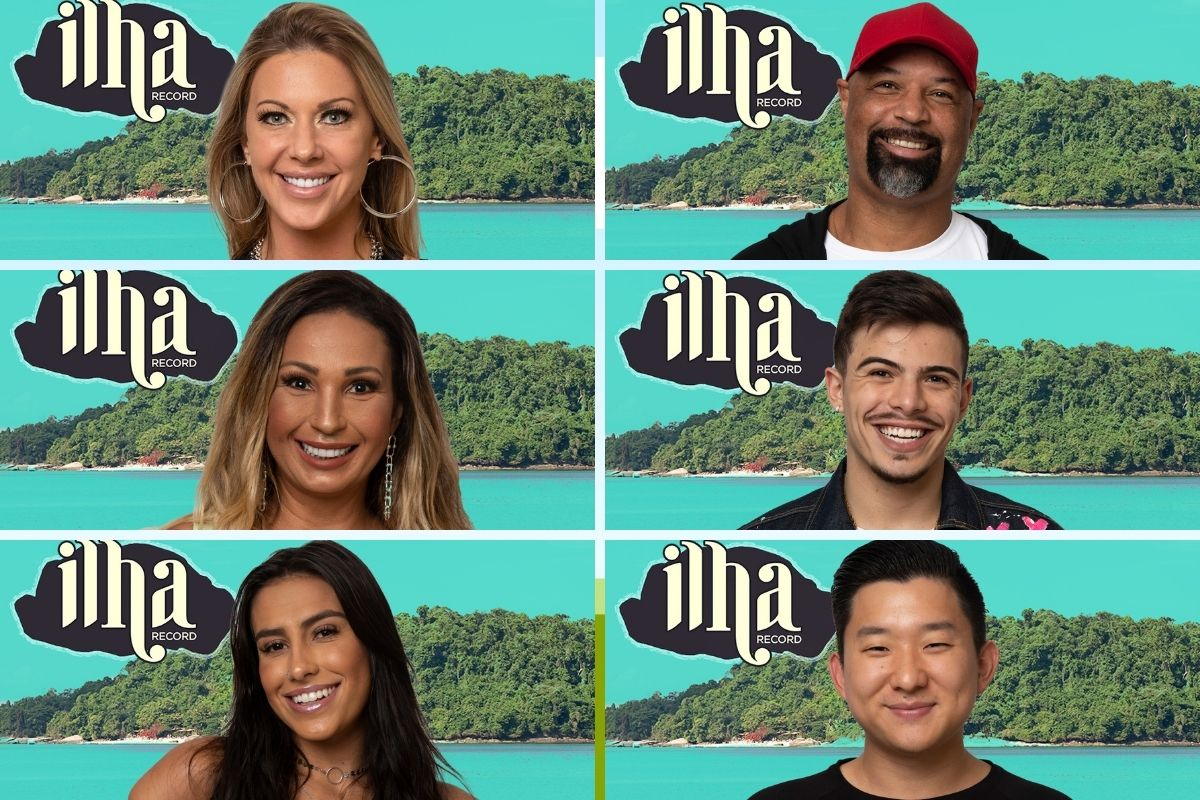 Participantes do reality show Ilha Record
