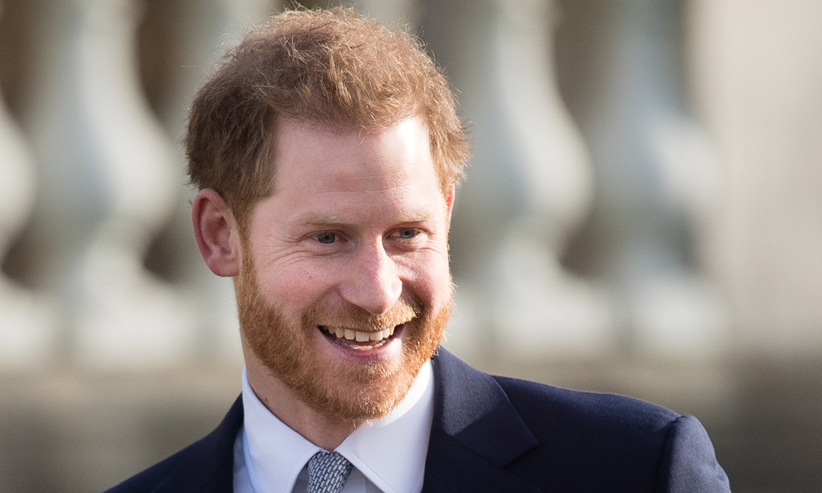 Principe Harry sorrindo