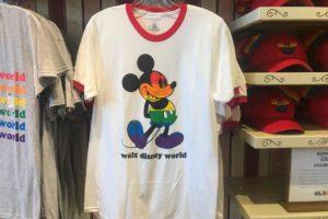 Camiseta LGBTQA+ vendido nos parques da Disney