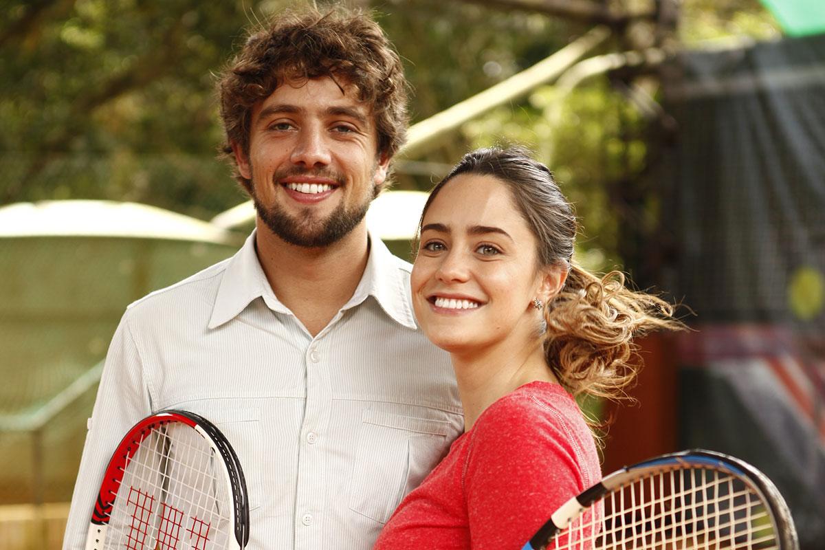 Rafael Cardoso e Fernanda Vasconcellos em A Vida da Gente
