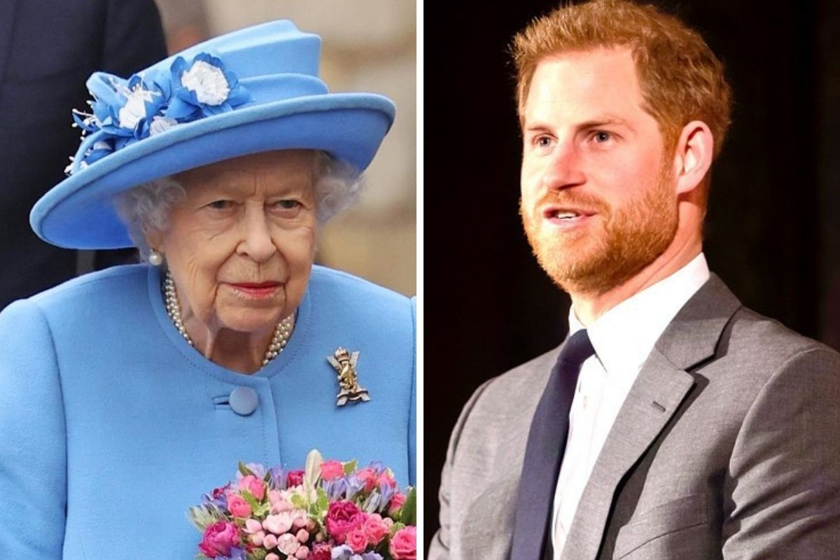 Rainha Elizabeth II e Príncipe Harry