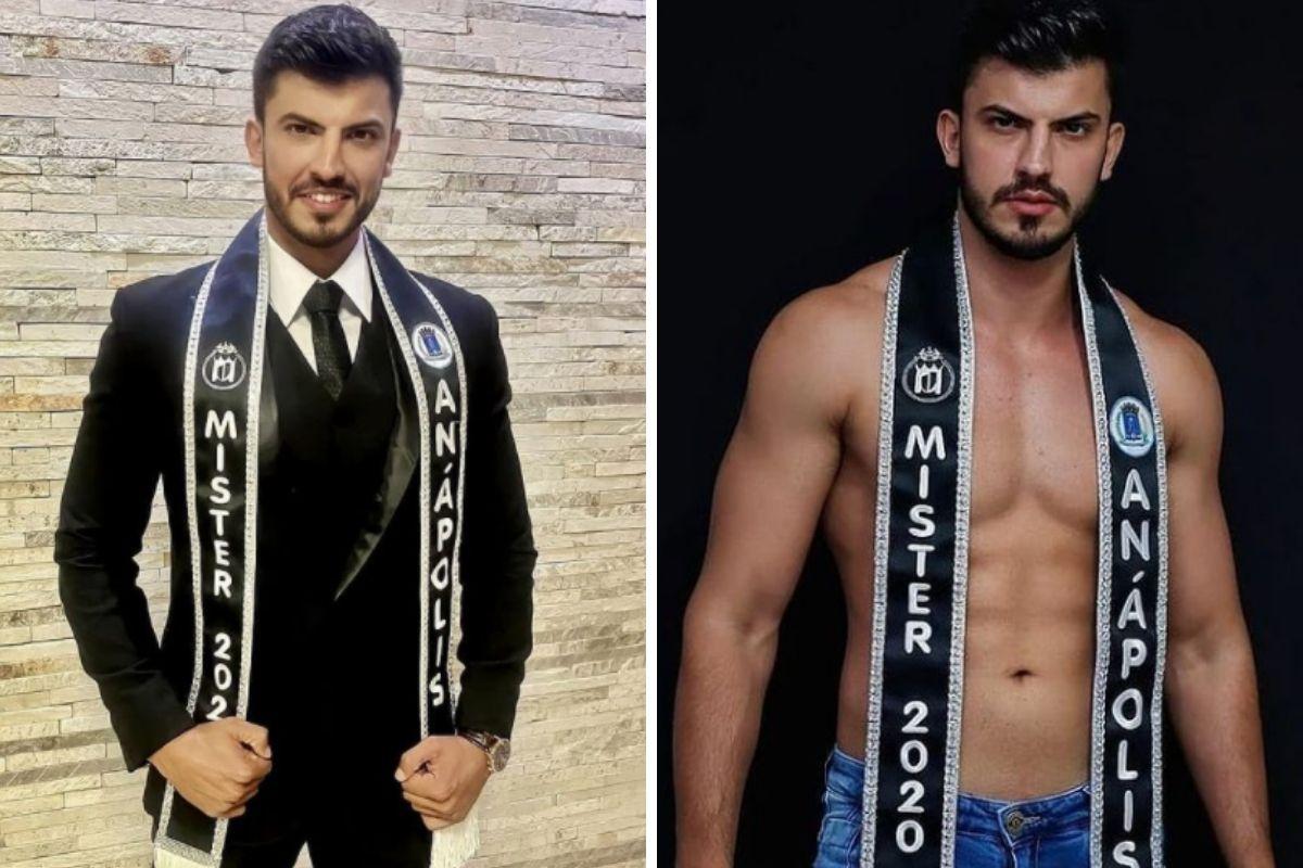 Raphael Almeida Correa foi Mister Anápolis 2020