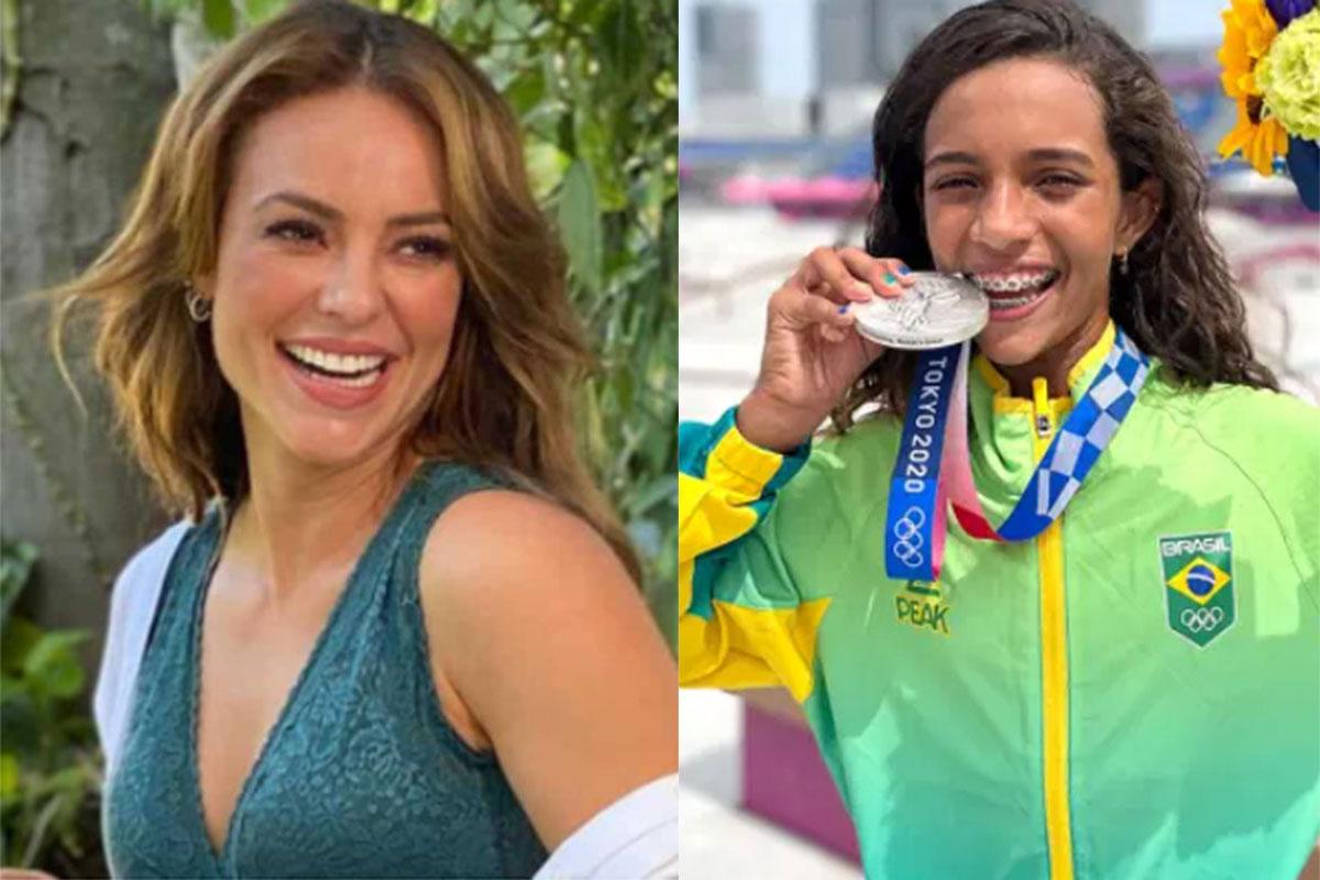 Rayssa Leal morde medalha