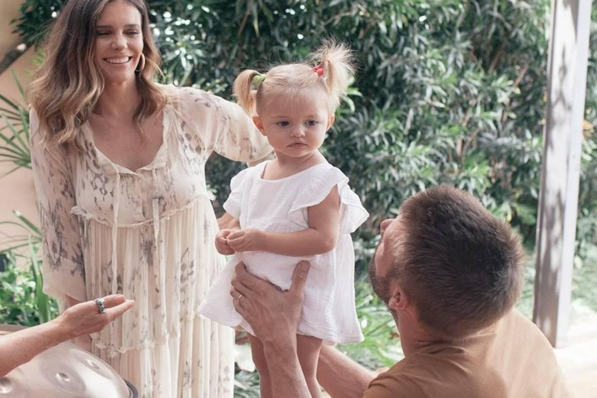 Rodrigo Hilbert mostra filha cacula