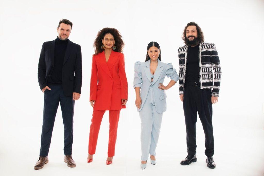 Taís Araújo, a cantora Simone – da dupla Simone & Simaria, Rodrigo Lombardi e Eduardo Sterblitch serão os jurados