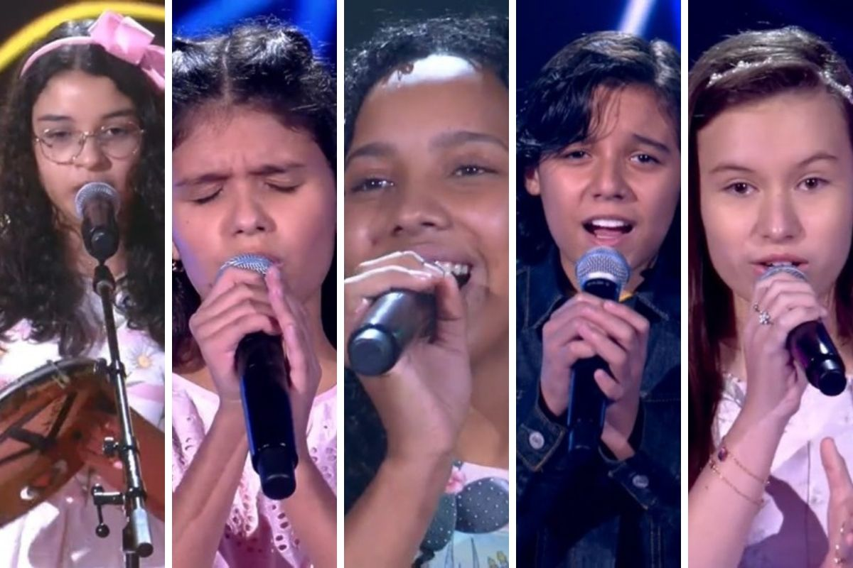 Cantores mirins do The Voice Kids