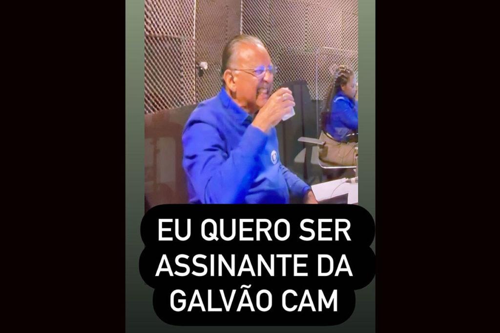 Tiago Leifert vibra com reações de Galvão Bueno nas Olimpíadas