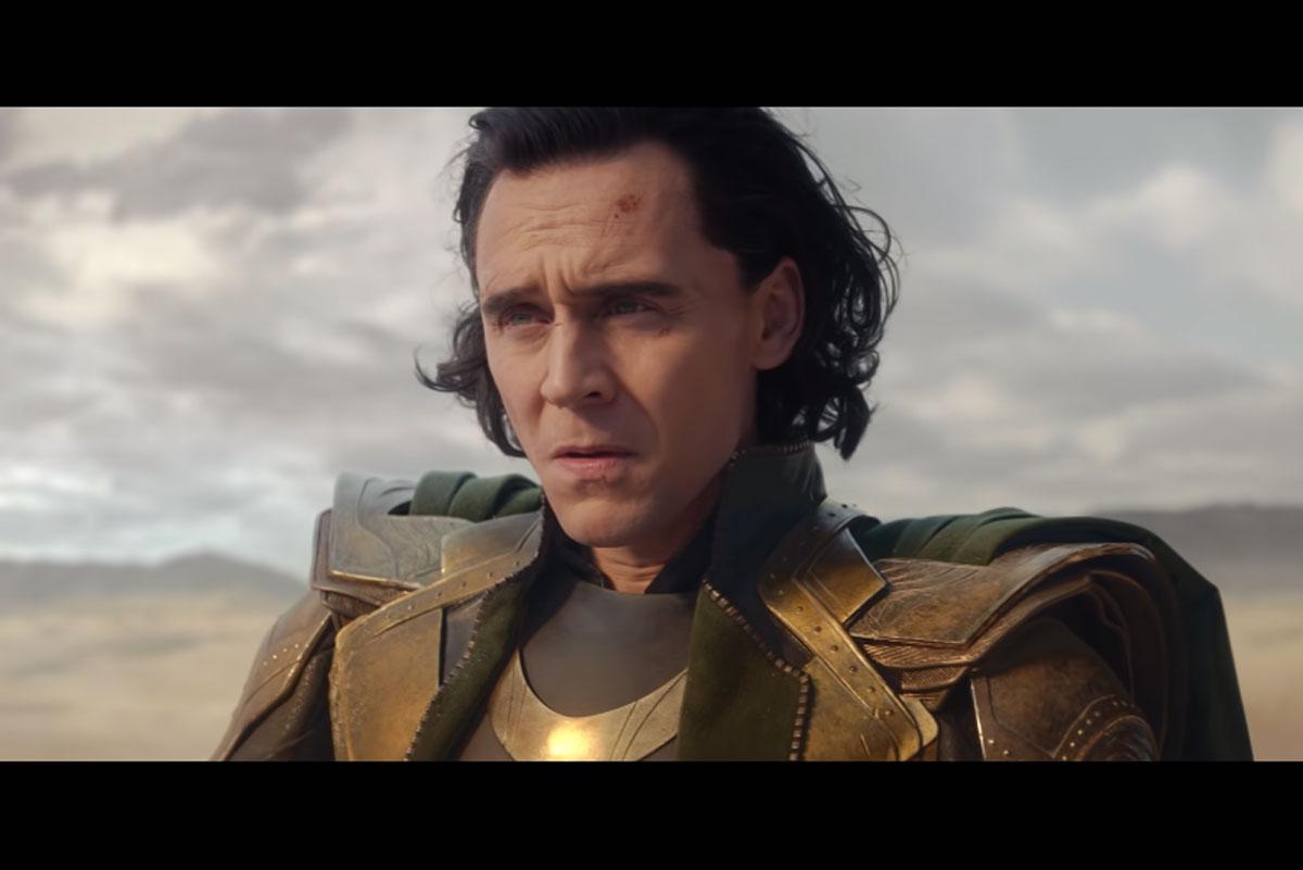 Tom Hiddleston como Loki em trailer de série