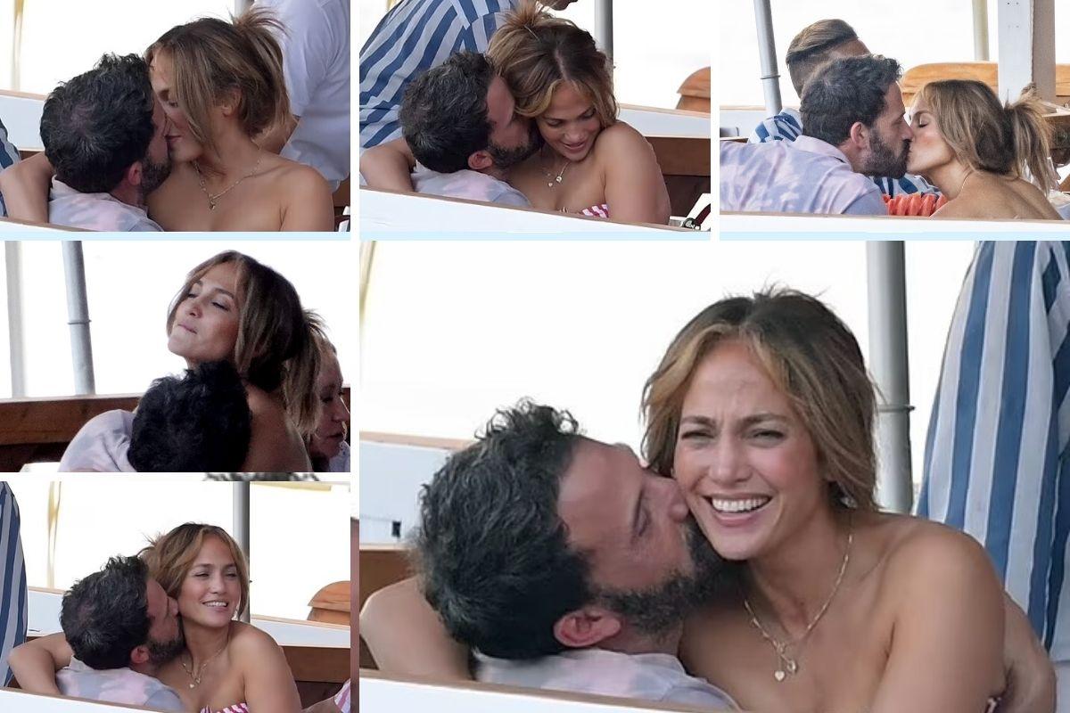 Jennifer Lopez e Ben Affleck: clima esquenta a bordo de iate