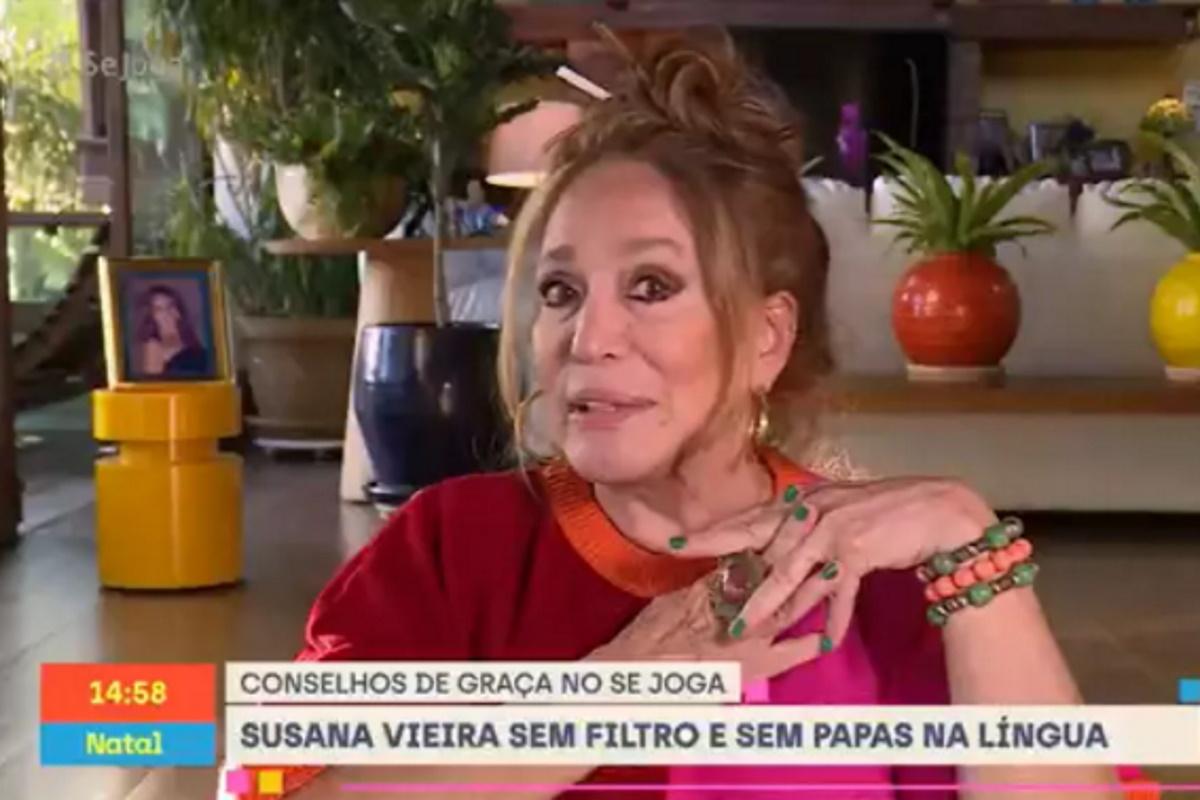 Susana Vieira no quadro do Se Joga