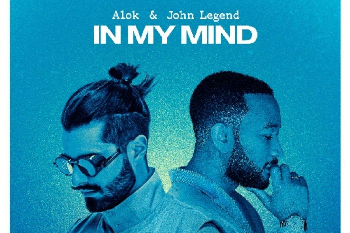 Foto de Alok e John Legenda em capa do single In My Mind