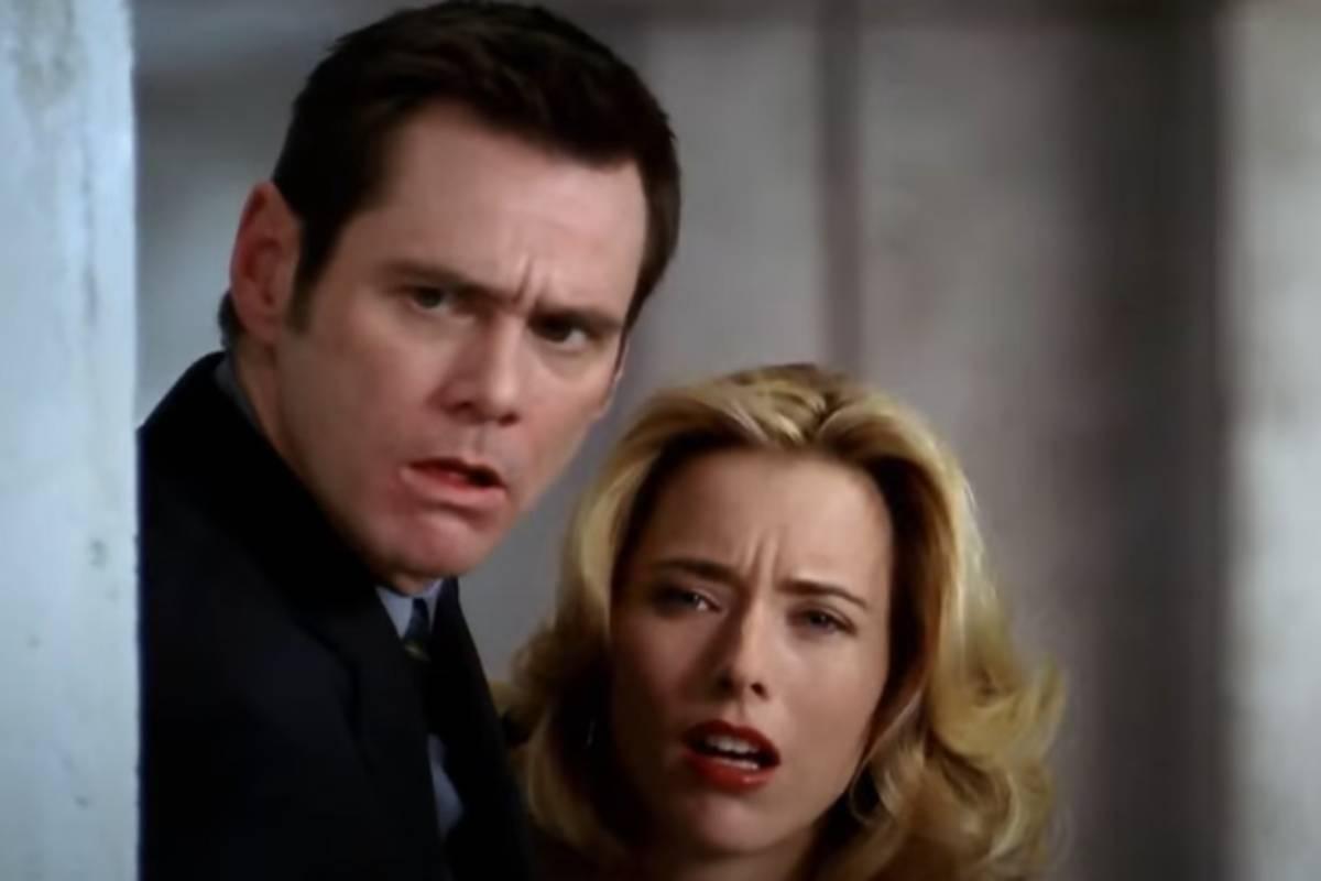personagem dick e jane em cena do filme as loucuras de dick e jane