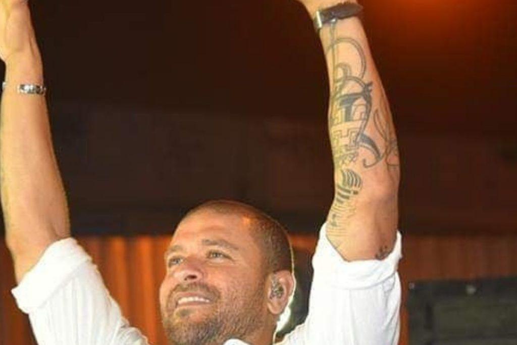 Tatuagem de Diogo Nogueira