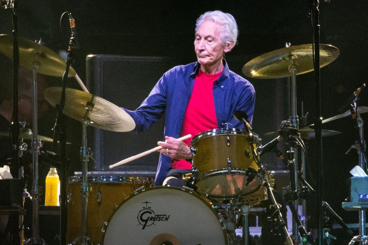 Charlie Watts, baterista do Rolling Stones