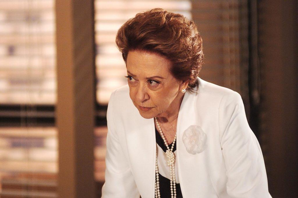 """Bia Falcão (Fernanda Montenegro) em """"Belíssima"""""""