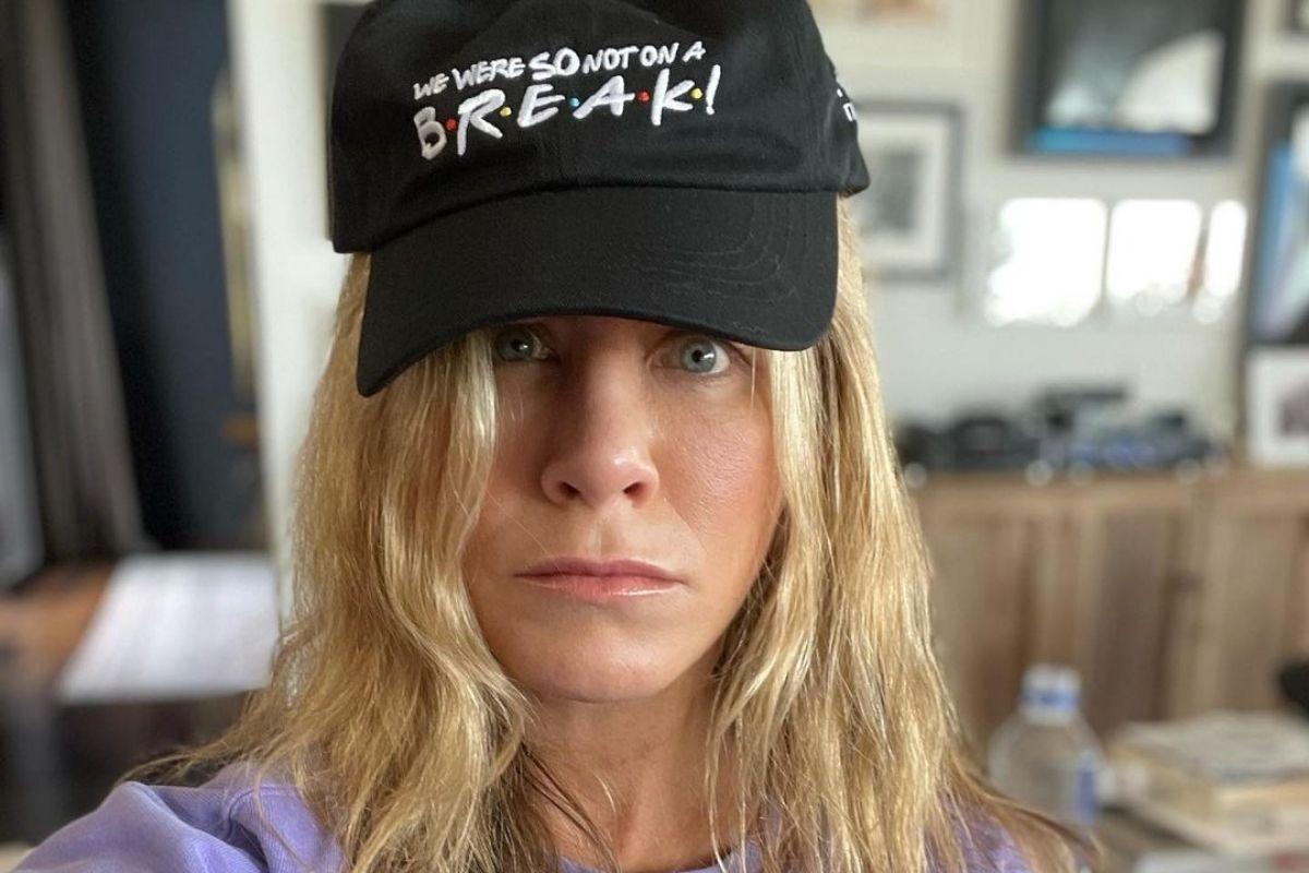 Jennifer Aniston em selfie