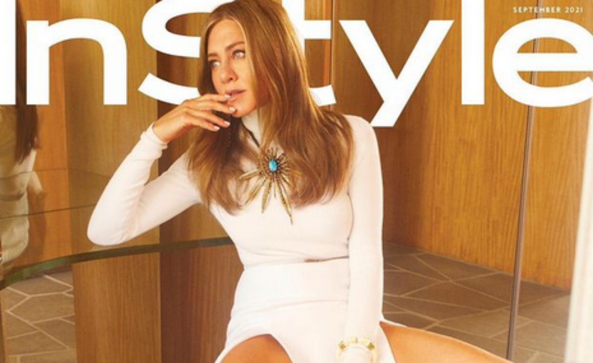 Jennifer Aniston capa de setembro da revista InStyle