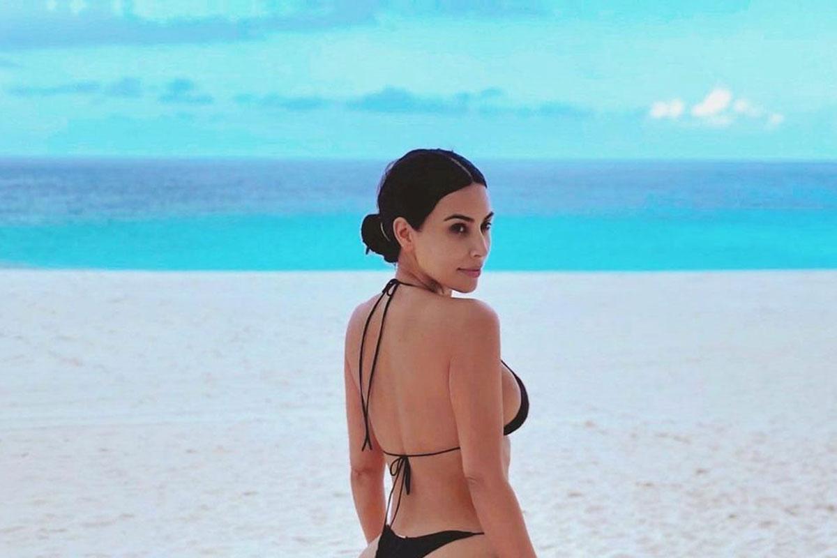Retrato Kim Kardashian