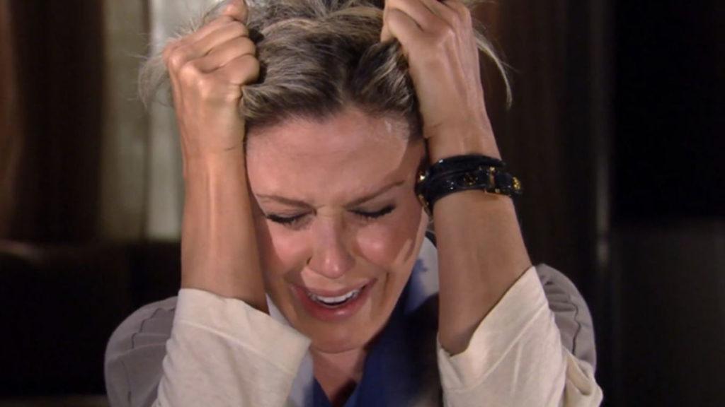 Luisa acredita que perdeu o neném e promete se vingar de Marcela
