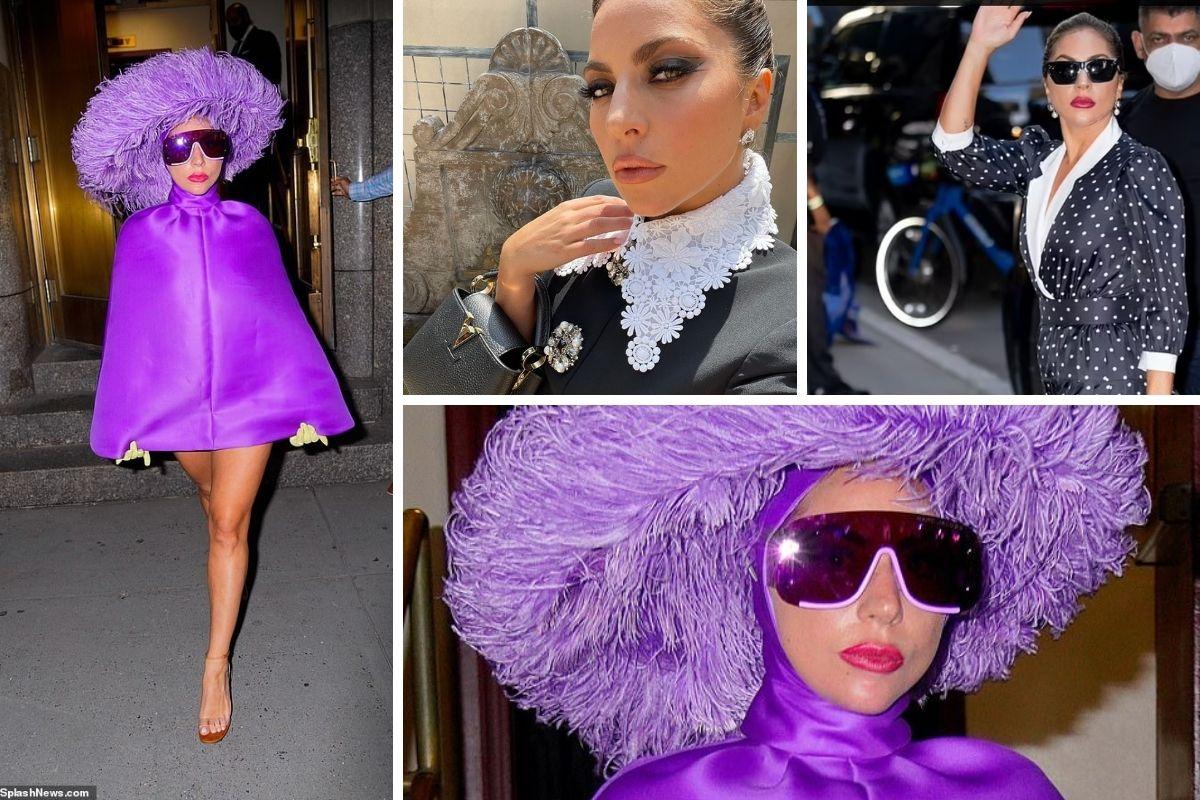 o estilo de lady gaga em nova york
