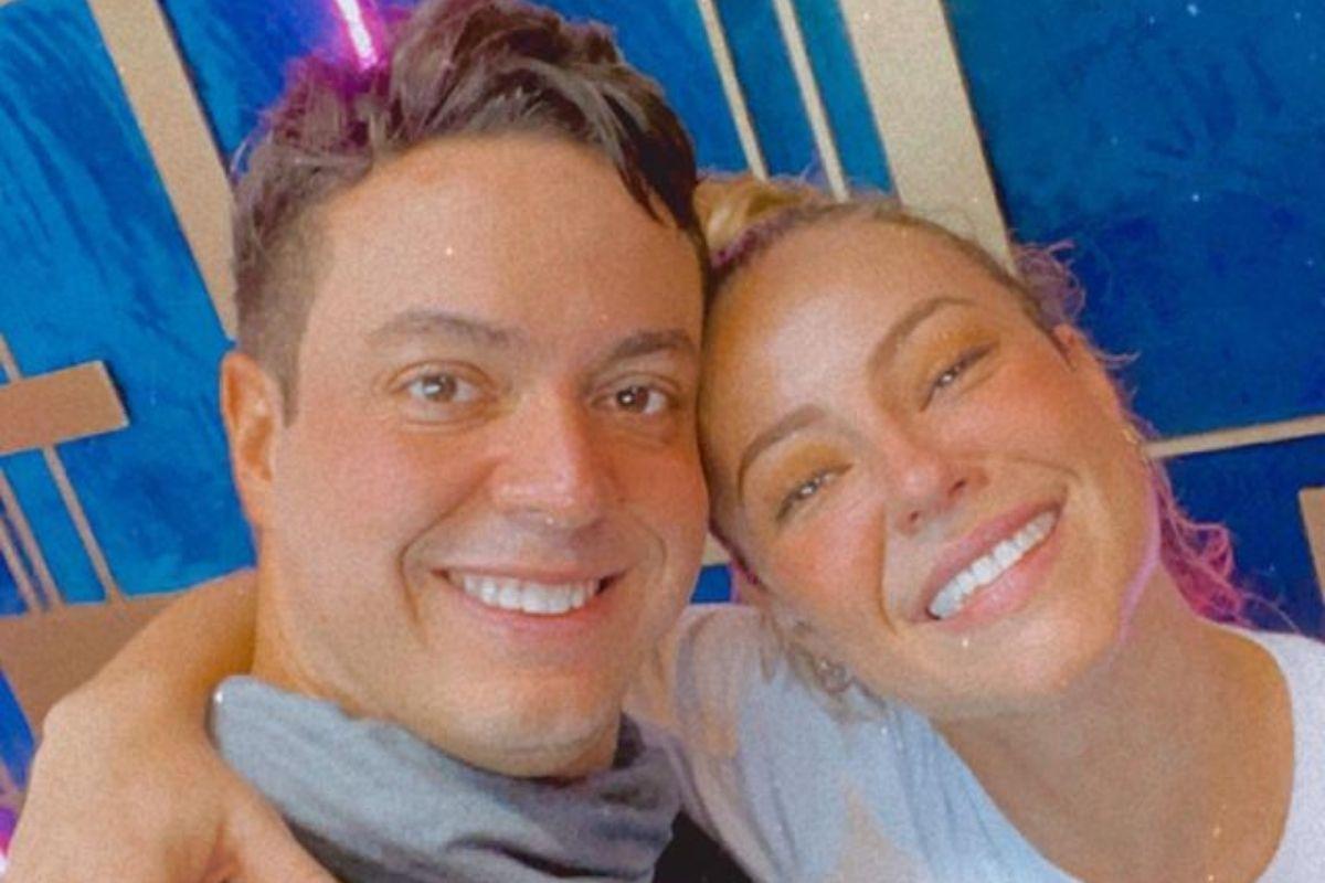 Paolla Oliveira e seu professor no Super Dança dos Famosos