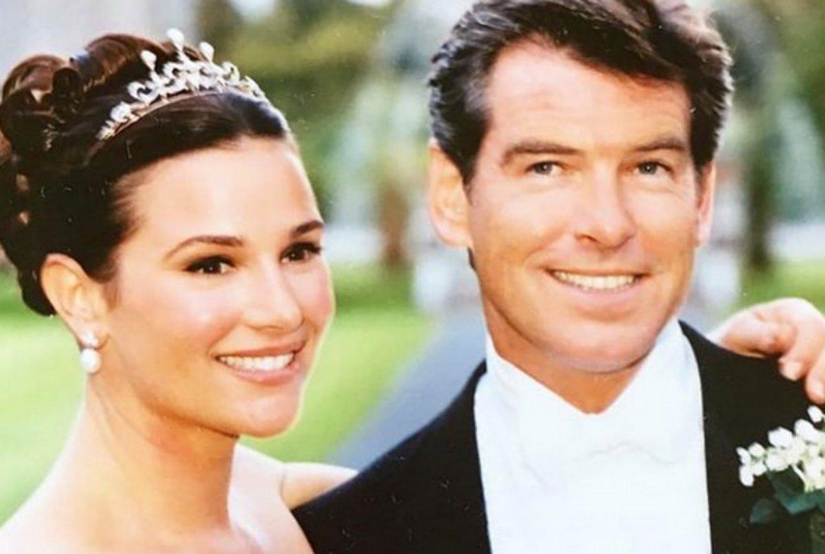 Pierce Brosnan e Keely Brosnan celebram aniversário de casamento