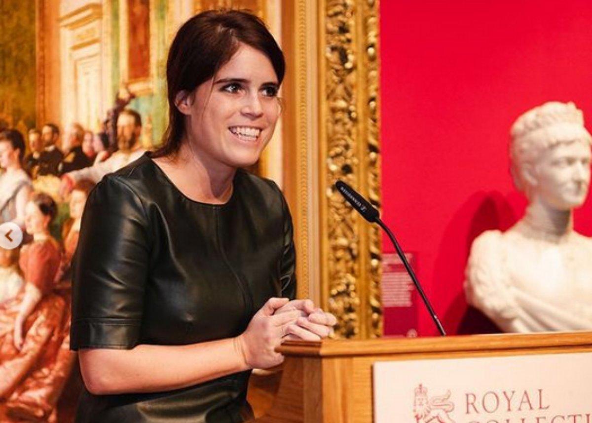 Princesa Eugenie em um evento