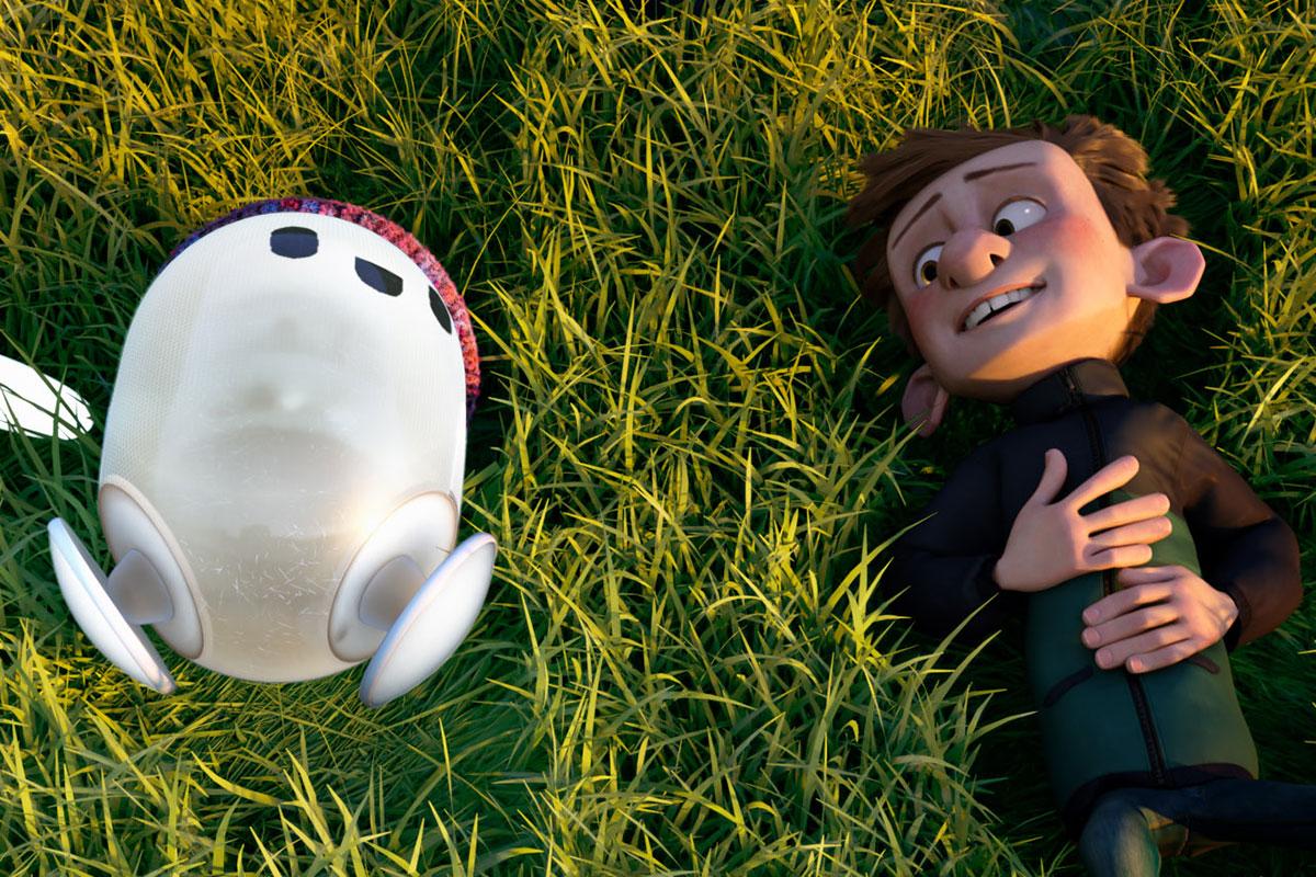 Cena do filme Ron Bugado, da Disney