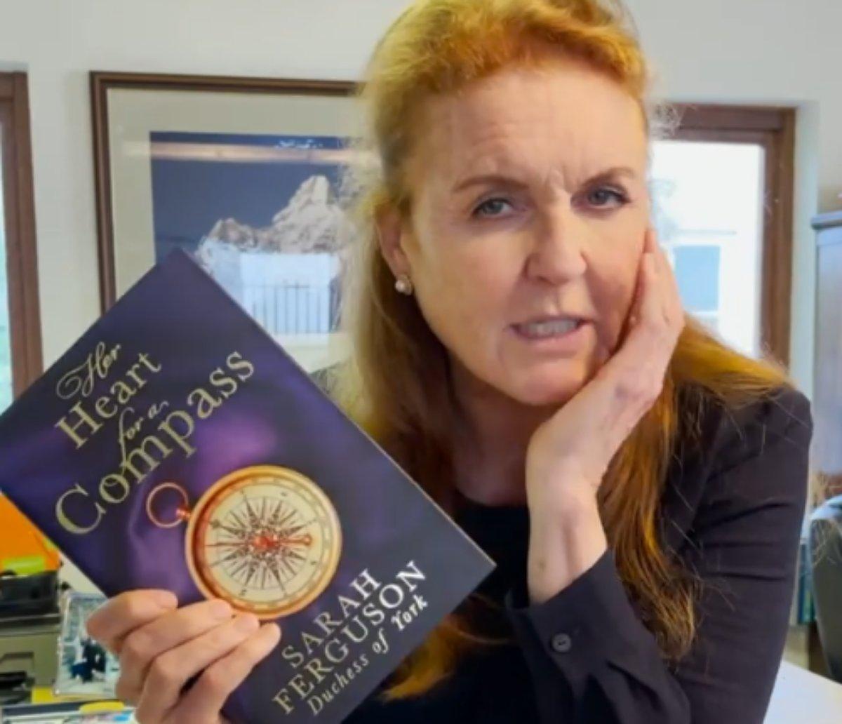 Sarah Ferguson apresenta novo livro