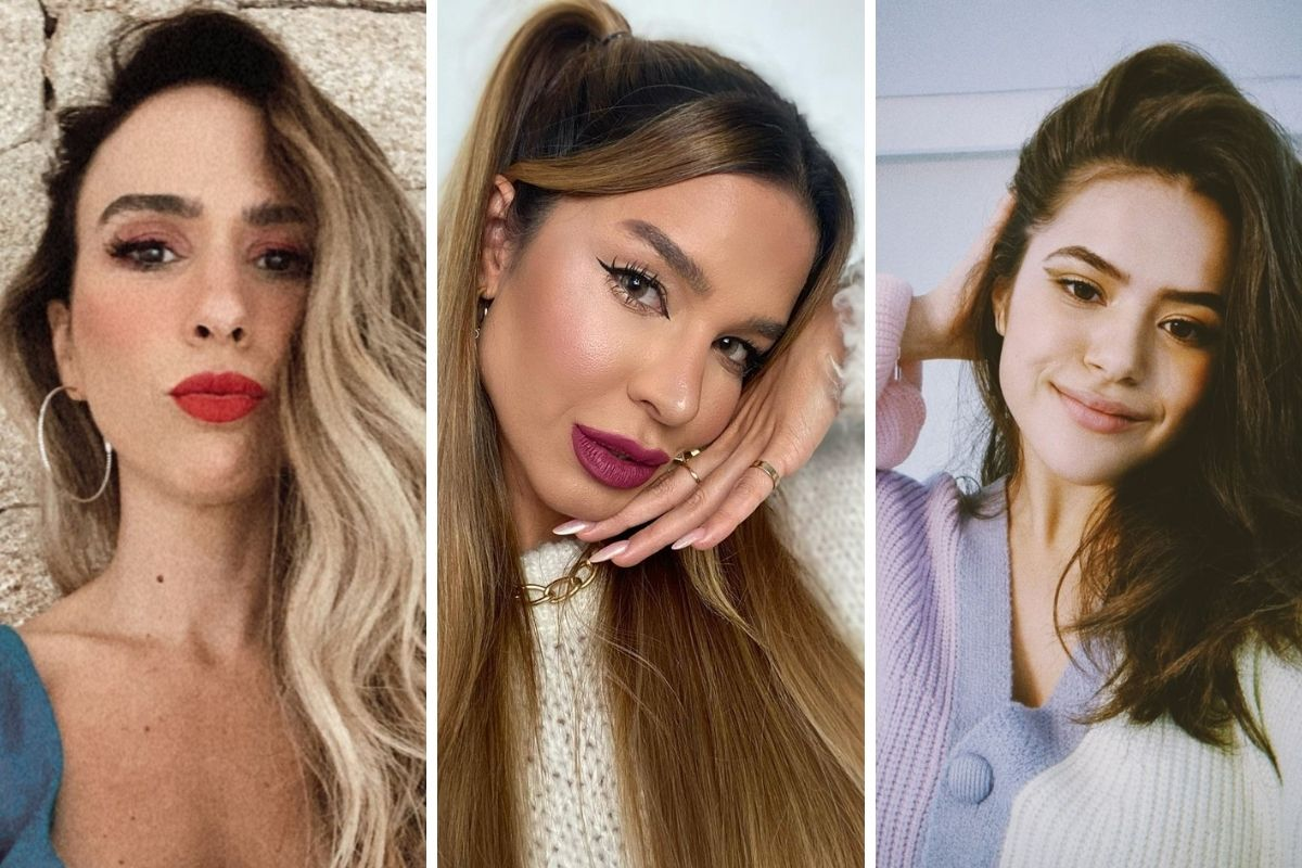 Tata Werneck, Kerline Cardoso e Maisa Silva em fotos posadas