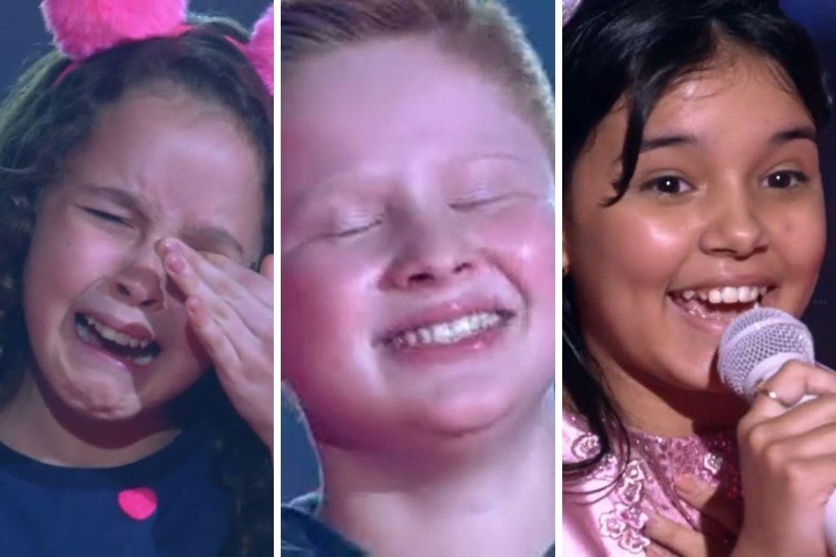 Crianças do The Voice Kids que passaram para próxima fase