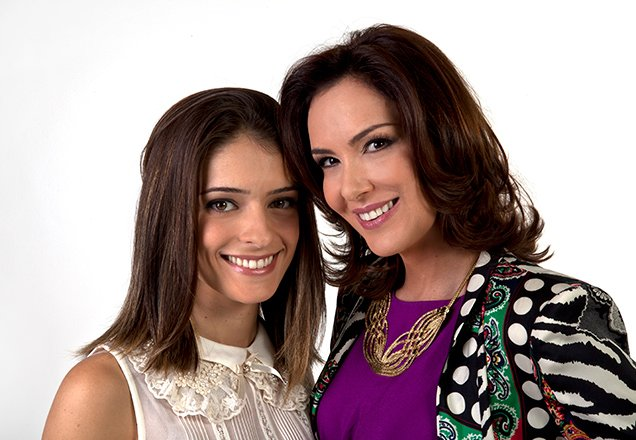 Eduarda e Maria Cecília de Chiquitita
