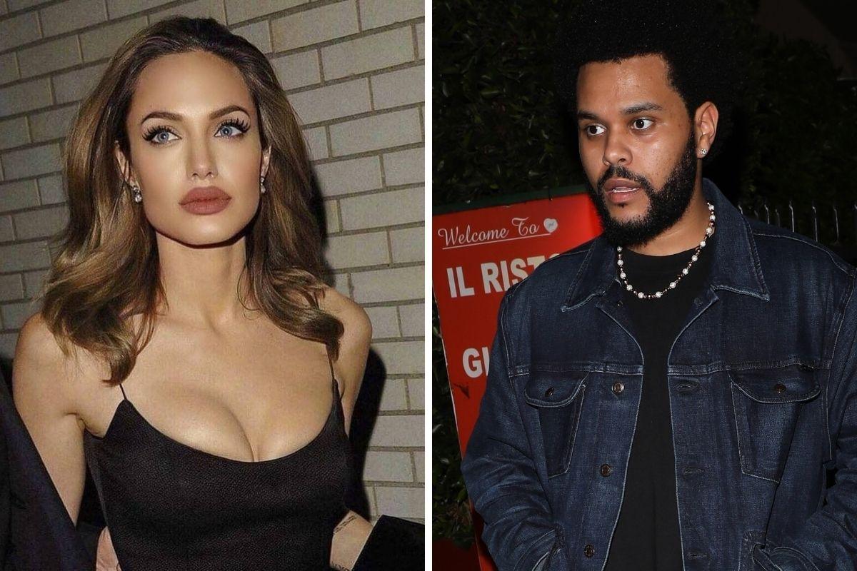 Angelina Jolie e rapper The Weekend