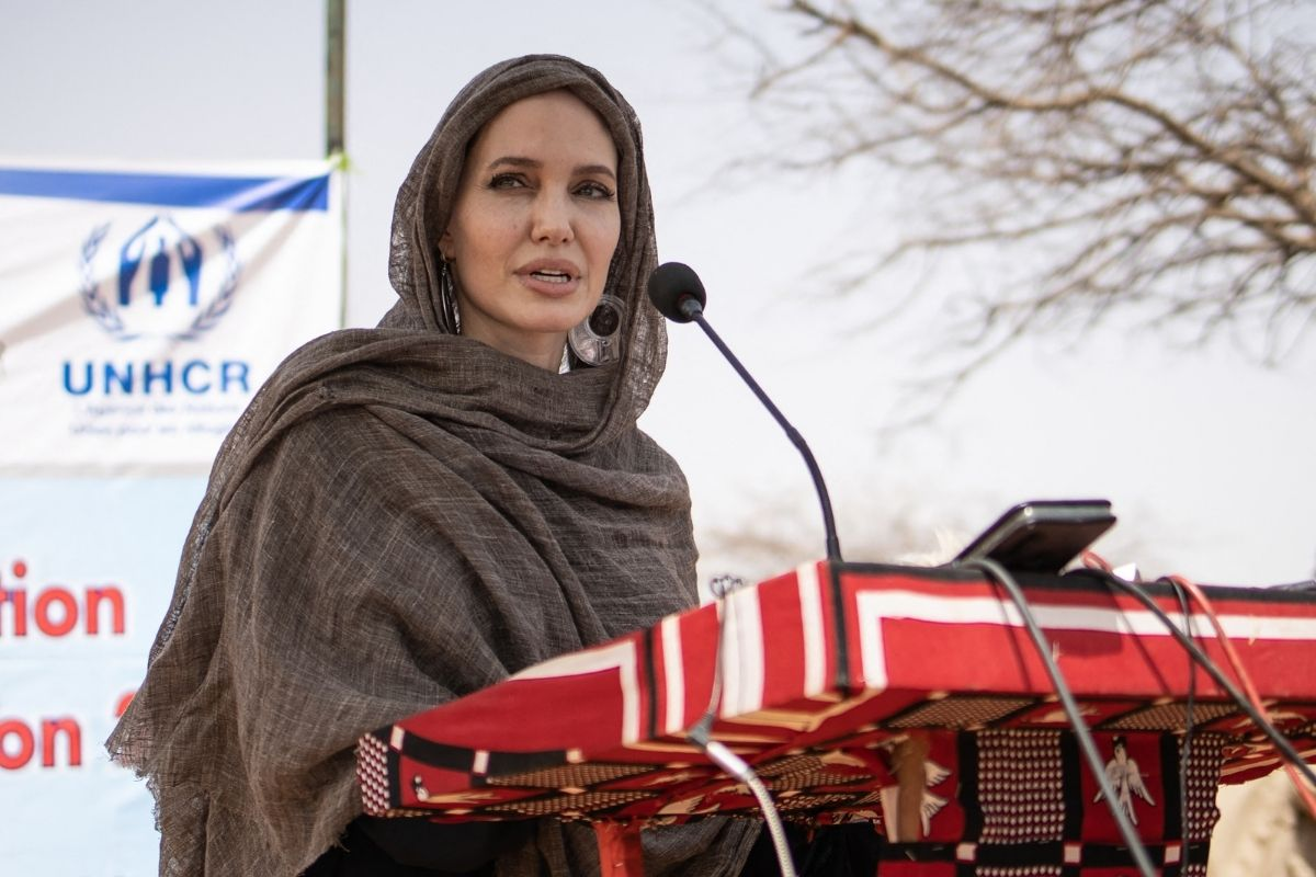 Angelina Jolie vai a Casa Branca denunciar violência sexista
