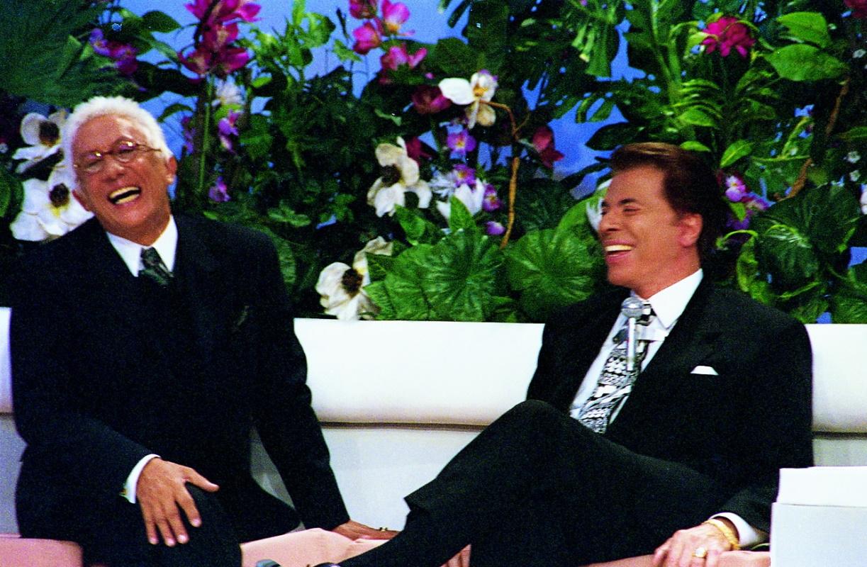 Silvio Santos e Clodovil